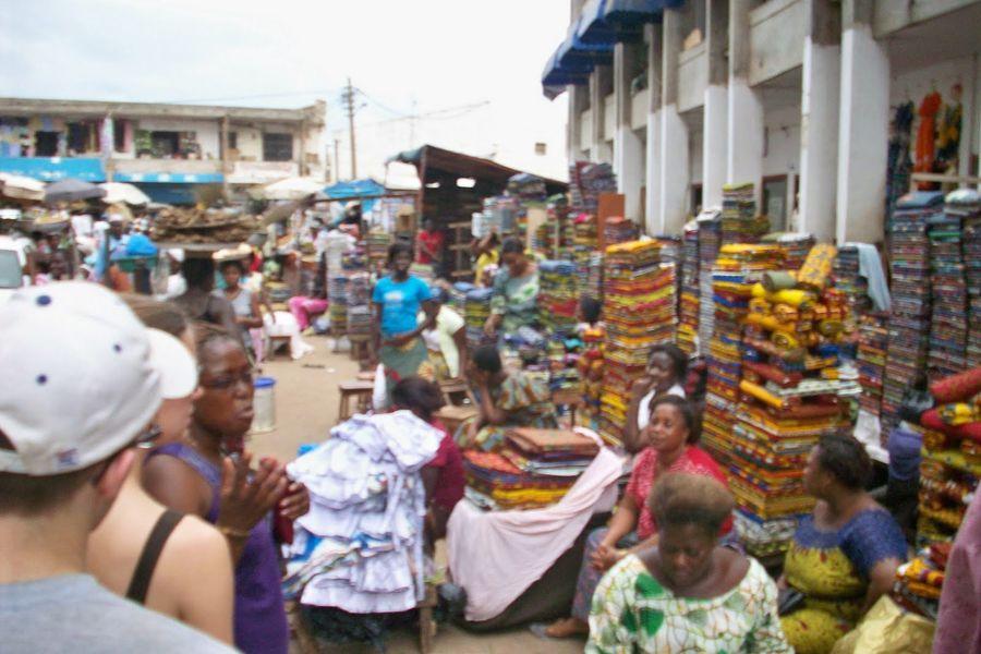 Большой рынок, Ломе