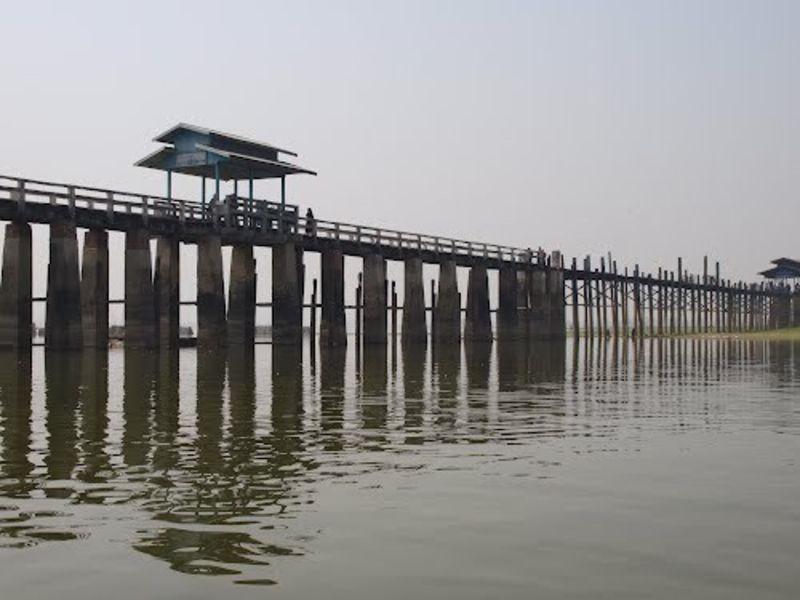 Амарапура мост Убейн