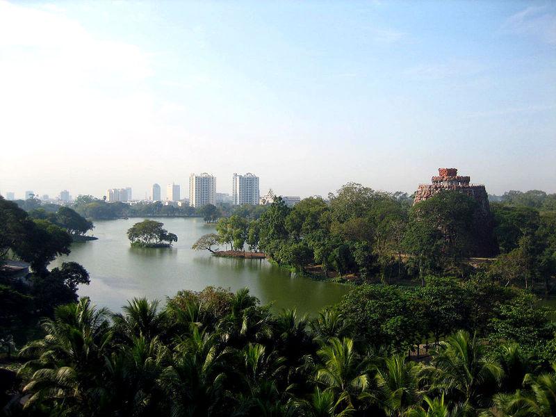 Сады Кандоги