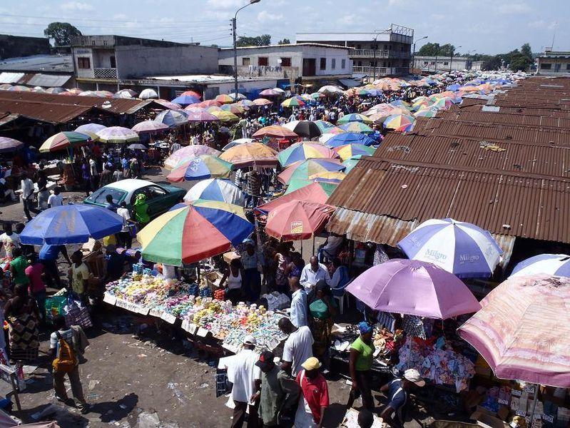 Городской рынок, Браззавиль