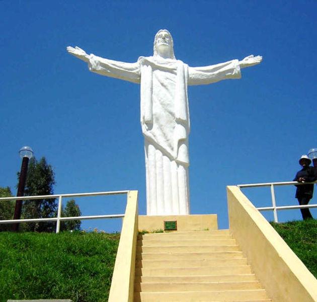 Статуя Священного сердца Христа