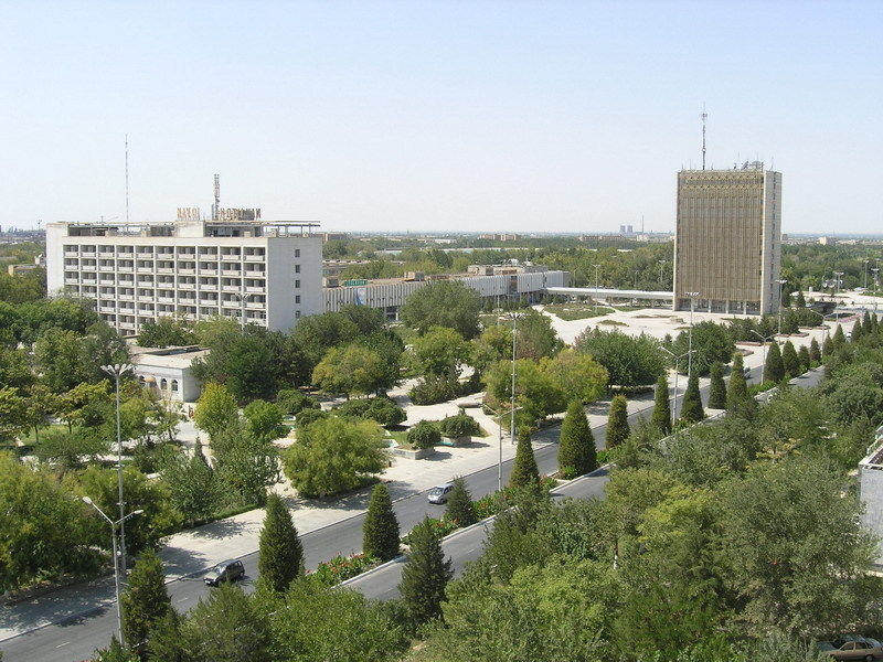 Город Навои для любителей СовАрха