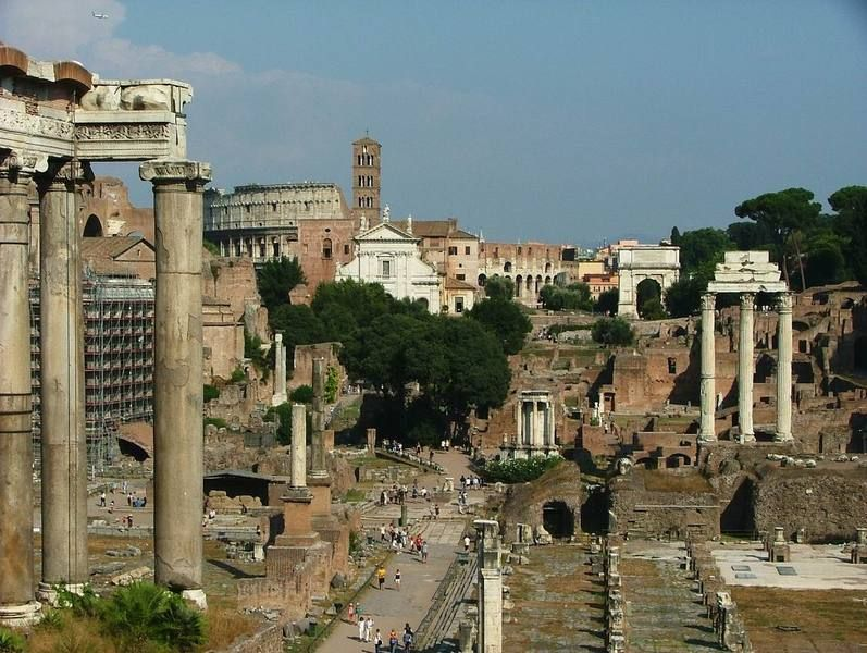 Весенний Рим