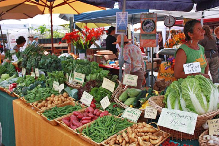 Субботний рынок Гренвилла