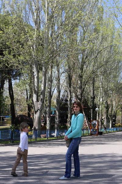 Парк аттракционов Casa del Campo в Мадриде