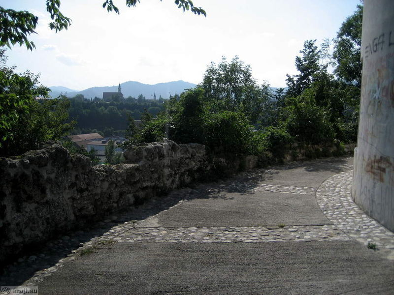 Городская стена, Крань