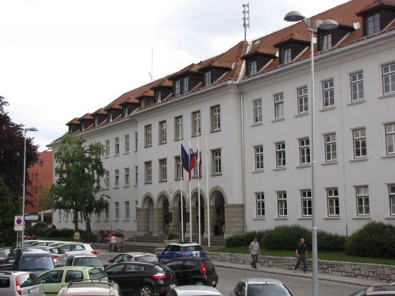 Здание муниципалитета, Крань