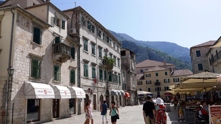 Прошлогодний отпуск в Черногории