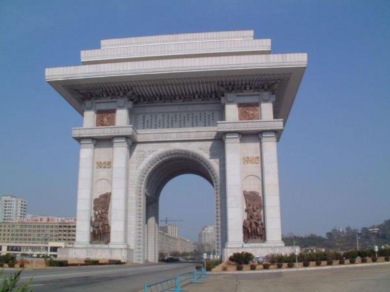 Триумфальная арка, Пхеньян