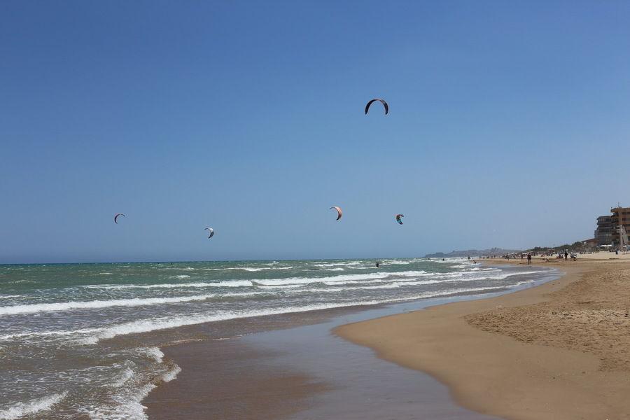 Водные виды спорта или когда есть море, солнце и ветер