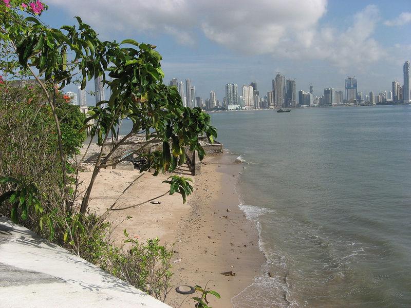 Панама в январе