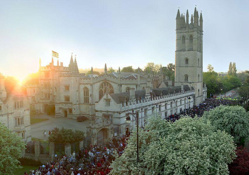 Колледж Магдалины в Оксфорде