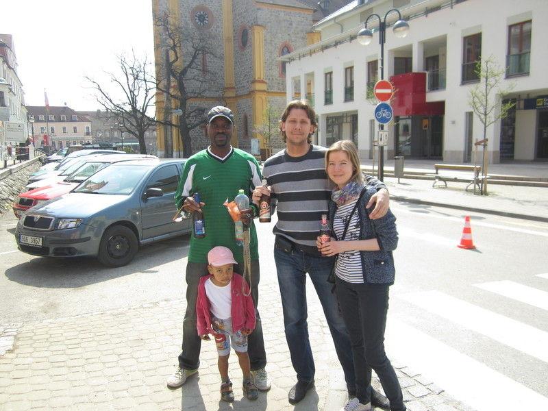 Прага весной.