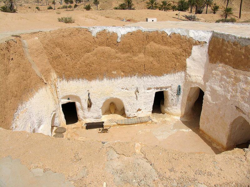 Пещерный город Матмата