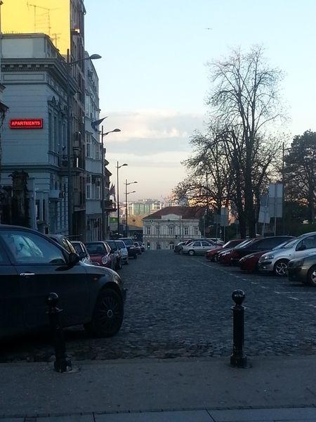 Белград ранним утром