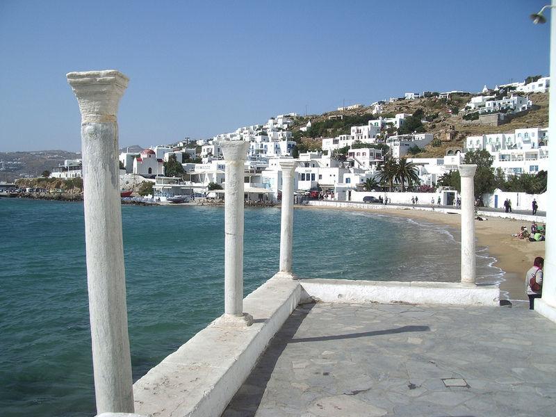 Греческий остров Миконос