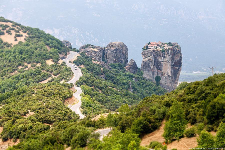 Греция, 3-х дневный маршрут на автомобиле