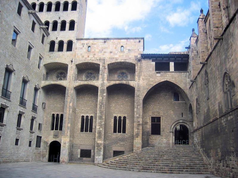 Архитектурный ансамбль Пласа-дел-Рей