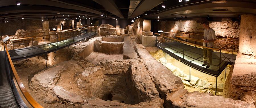 Подземный римский музей