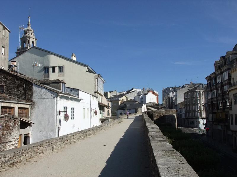 Галлисийский город Луго, Испания
