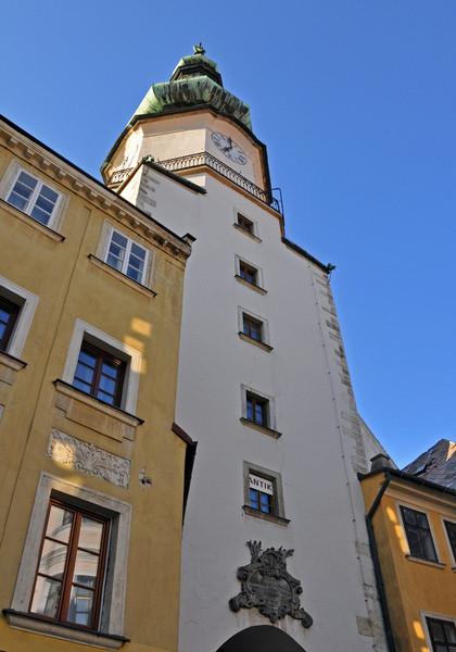 Прекрасный город Братислава