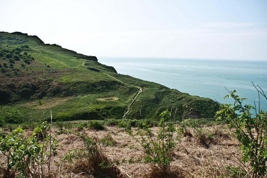 Этрета на побережье Ла-Манша