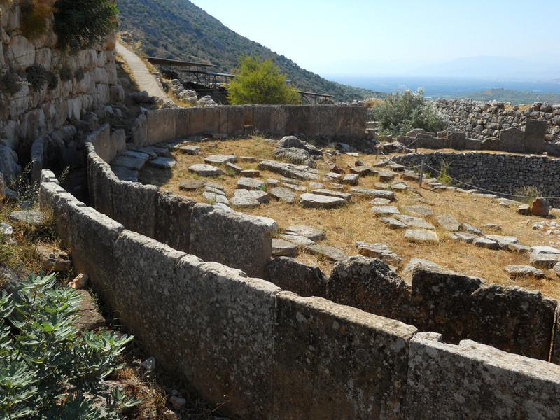 Руины города Микены