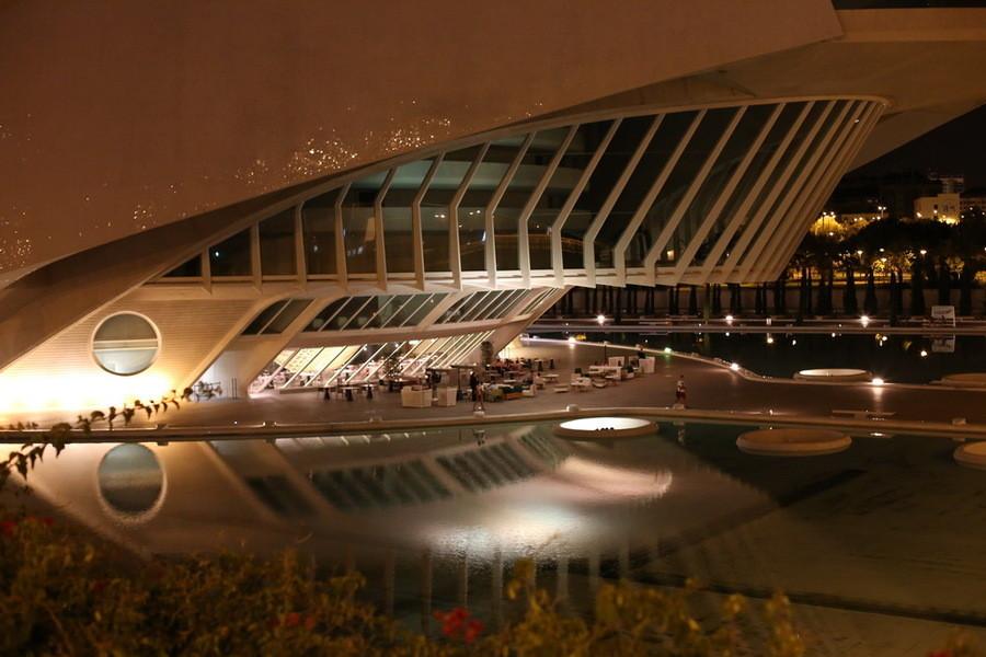 Городок наук и искусств Валенсии