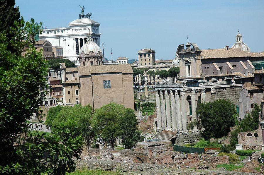 Палатин — старейший из римских холмов