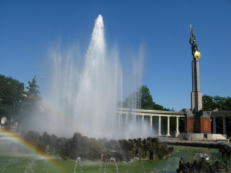 Моя летняя поездка в столицу Австрии!)