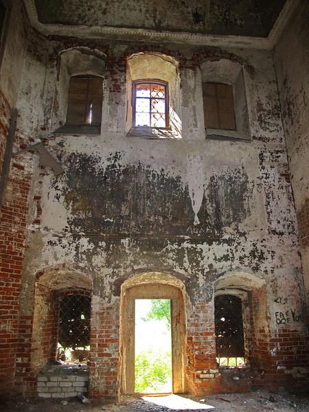 Церковь Василия Великого в селе Деревеньки
