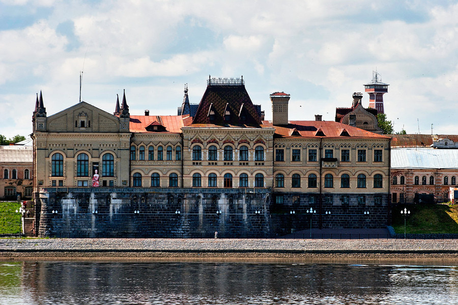 Летний Рыбинск