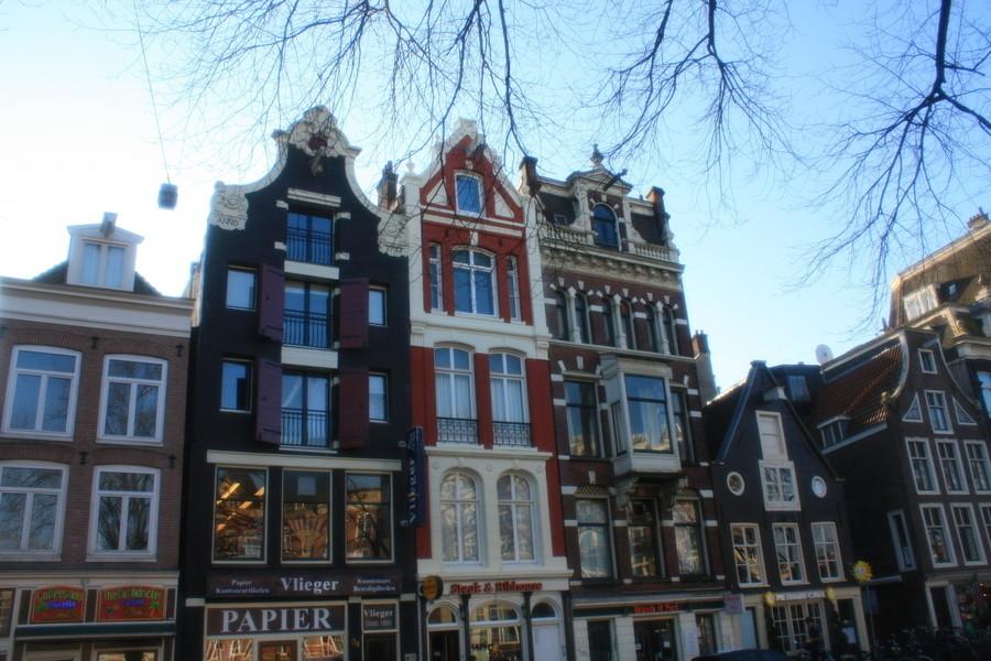 Зимний Амстердам