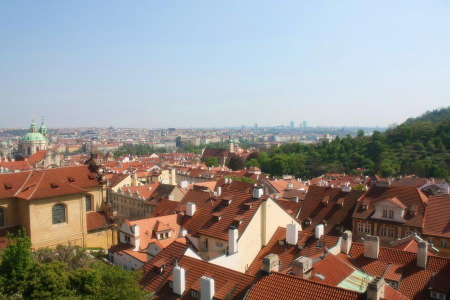 Прага в мае..