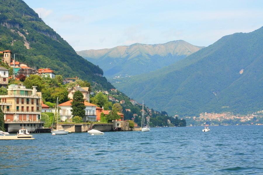 Италия, озеро Комо (40 км от Милана)
