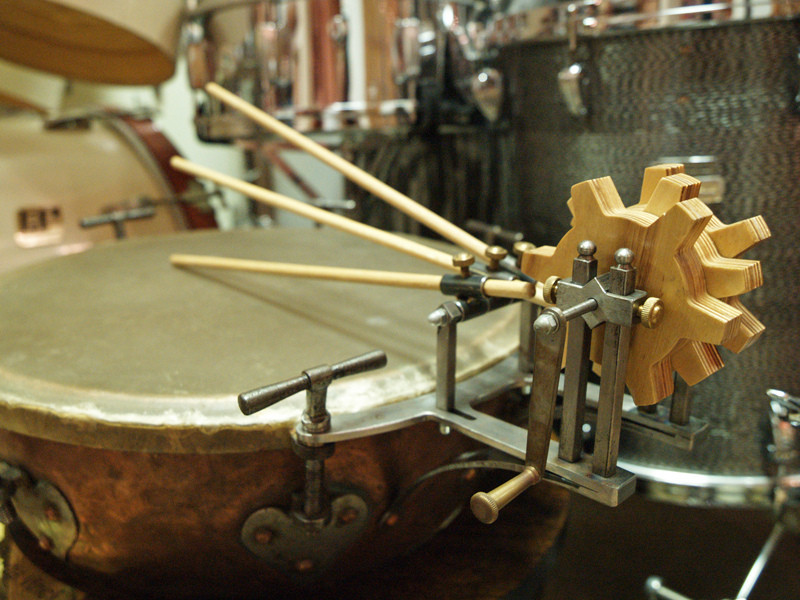 Музей барабанов, город Цеглед