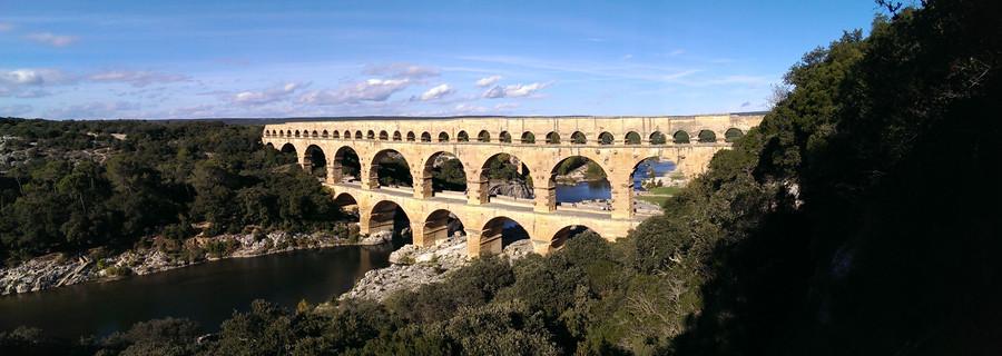 Мост Дю Гар