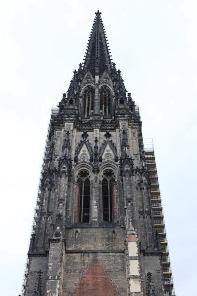 Разрушенная церковь Святого Николая