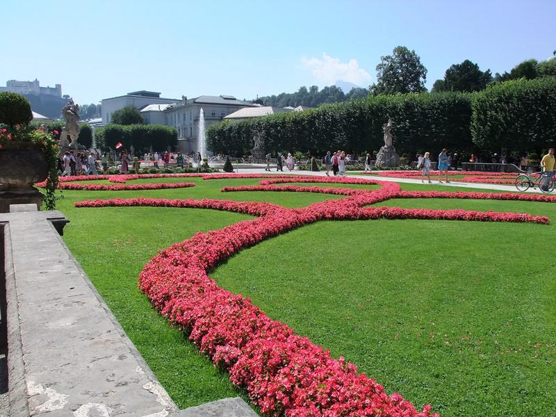 Сады дворца Мирабель, Зальцбург