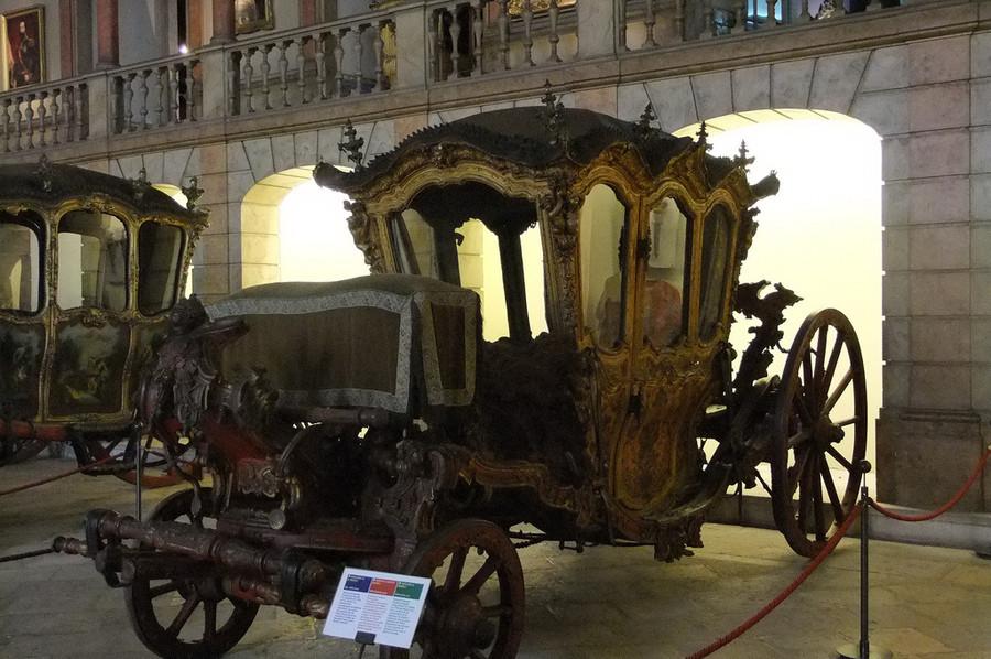 Национальный музей карет в Лиссабоне, Португалия