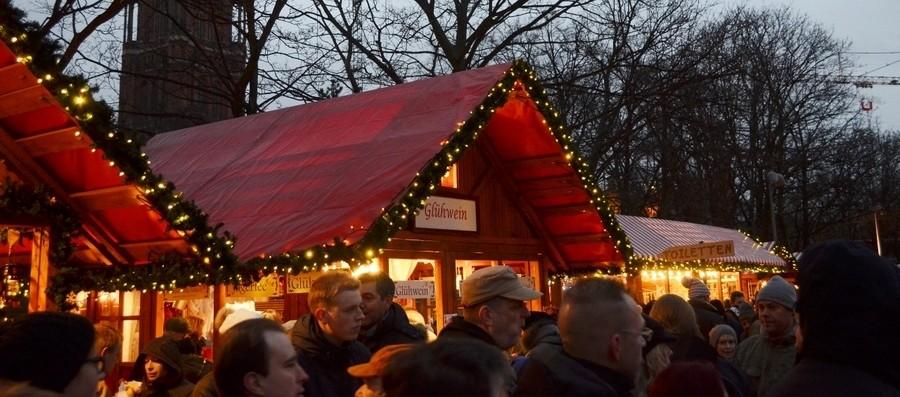 Берлин в декабре