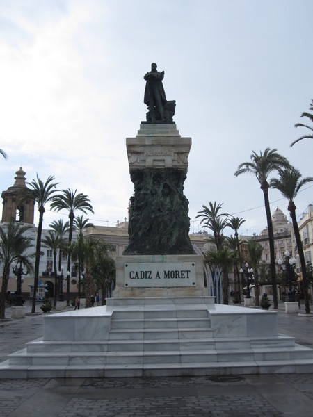Первое января в испанском Кадисе
