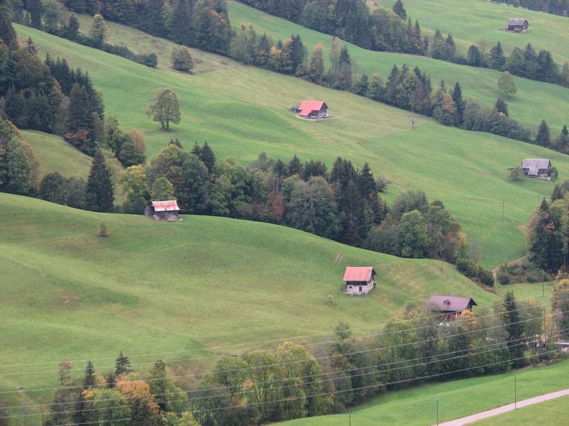 Швейцарские просторы