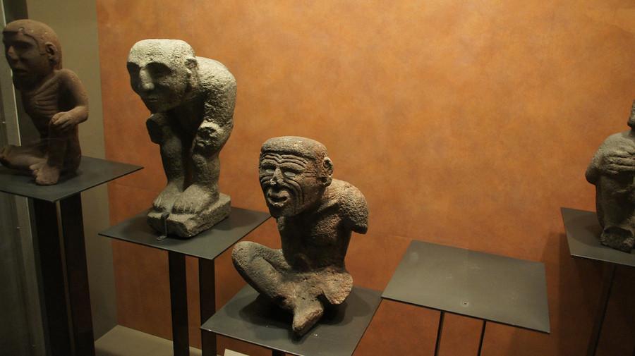 Национальный антропологический музей в Мехико