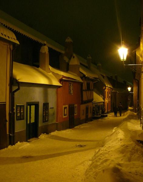 Поездка в Прагу прошлой зимой