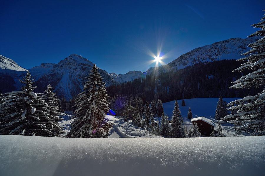 Швейцарский курорт Ароса