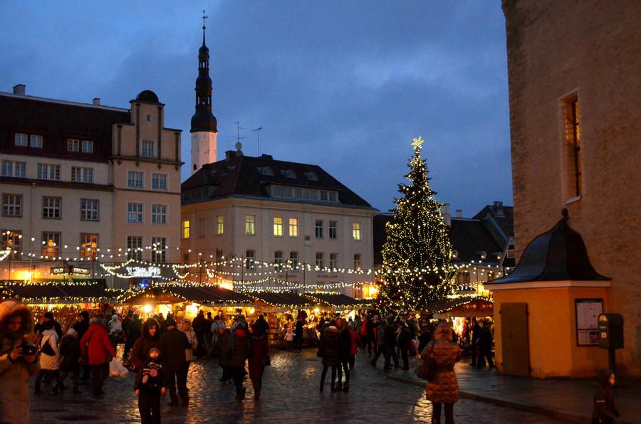 Новогодний Таллин (декабрь-январь)