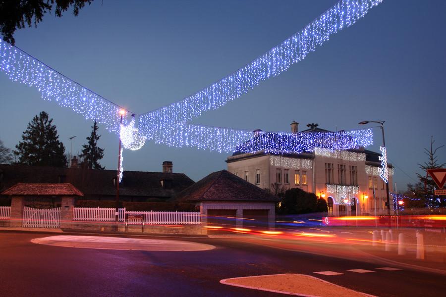 Праздничная иллюминация Труа
