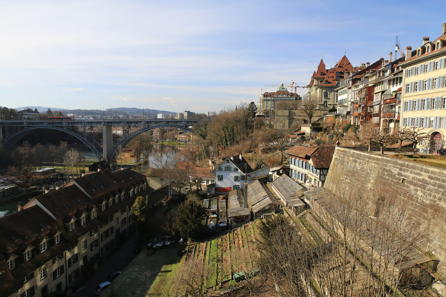 Столица Швейцарии - Берн (февраль)