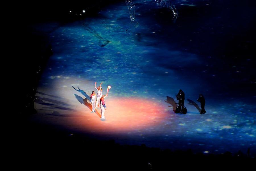 Открытие Зимних Олимпийских игр в Сочи 2014